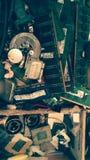 Eletronics maskinvara fotografering för bildbyråer