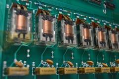 Eletronics-Relais Lizenzfreie Stockfotografie