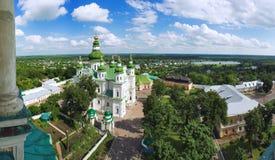 Eletskiy Assumption monastery in Chernigov Royalty Free Stock Photo