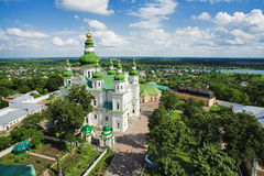Eletskiy Assumption monastery in Chernigov Stock Photo