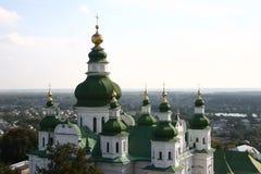 Eletsky圣洁假定女修道院, Chernigiv,乌克兰 免版税库存照片