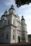 Eletsky helig antagandekloster, Chernigiv, Ukraina Royaltyfria Bilder