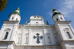 Eletsky wniebowzięcia Święty klasztor, Chernigiv, Ukraina Obrazy Royalty Free