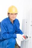 Elettricista Fotografia Stock