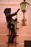Elettricista del monumento dell'Ucraina fotografia stock