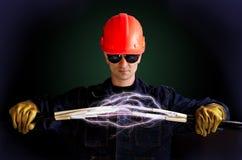 elettricisti immagini stock