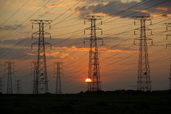Elettricità Fotografie Stock