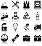 Elettricità Fotografia Stock Libera da Diritti