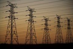 Elettricità Fotografia Stock