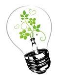 Elettricità in condizioni ambientali Fotografia Stock Libera da Diritti