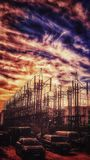 Elettricità d'annata Fotografie Stock Libere da Diritti