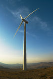 Elettricità del generatore Fotografia Stock