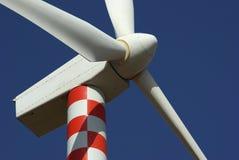 Elettricità del generatore a vento Fotografia Stock