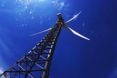 Elettricità del generatore a vento Fotografia Stock Libera da Diritti
