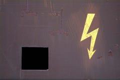 Elettricità di attenzione Immagini Stock Libere da Diritti