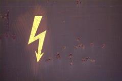 Elettricità di attenzione Immagine Stock