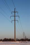 Elettricità di distribuzione Fotografia Stock Libera da Diritti