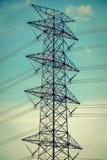 Elettricità e alta tensione Immagine Stock