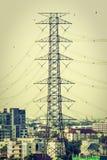Elettricità e alta tensione Fotografia Stock Libera da Diritti