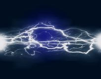 Elettricità e potere immagine stock libera da diritti