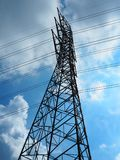 Elettricità Palo fotografie stock