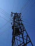 Elettricità Palo Immagini Stock