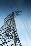 Elettricità Palo Fotografia Stock Libera da Diritti