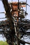 Elettricità pazzesca Immagini Stock Libere da Diritti