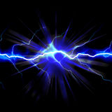 Elettricità scioccante Fotografia Stock Libera da Diritti