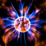 Elettricità statica del plasma fotografia stock libera da diritti