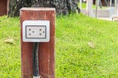 Elettrico inserisca il giardino Fotografia Stock Libera da Diritti