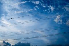 Elettrico metallico fotografia stock libera da diritti