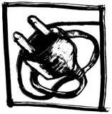Elettrico-spina royalty illustrazione gratis