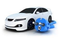 Elettro automobile Fotografia Stock