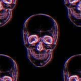 Elettro cranio Reticolo senza giunte immagine stock