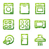 Elettrodomestici di Grunge co royalty illustrazione gratis