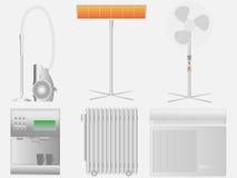 Elettrodomestici elettrici Immagine Stock