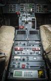 Elettronica aeronautica di aviazione Immagine Stock Libera da Diritti