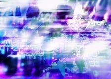 Elettronica astratta Fotografia Stock Libera da Diritti