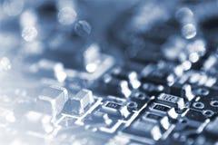 Elettronica del calcolatore Fotografia Stock Libera da Diritti