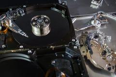 Elettronica del residuo del disco rigido Fotografia Stock Libera da Diritti