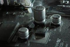 Elettronico sporco Fotografie Stock Libere da Diritti