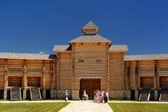Eletz, Россия - 13-ое июня 2015: Фестиваль Ethno фольклорный на Kudykina g Стоковые Изображения RF