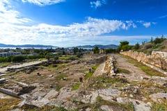 Eleusis antico Immagini Stock
