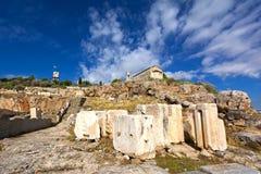 Eleusis antico Fotografia Stock Libera da Diritti