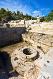 Eleusis antique Photo libre de droits