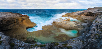Eleuthera eilandlandschap Royalty-vrije Stock Afbeelding