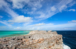 Eleuthera island Royalty Free Stock Photo