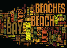 Eleuthera S Best Beaches Word Cloud Concept. Eleuthera S Best Beaches Text Background Word Cloud Concept vector illustration