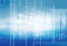 Elevação abstrata - série do conceito do espaço da tecnologia 3d Foto de Stock